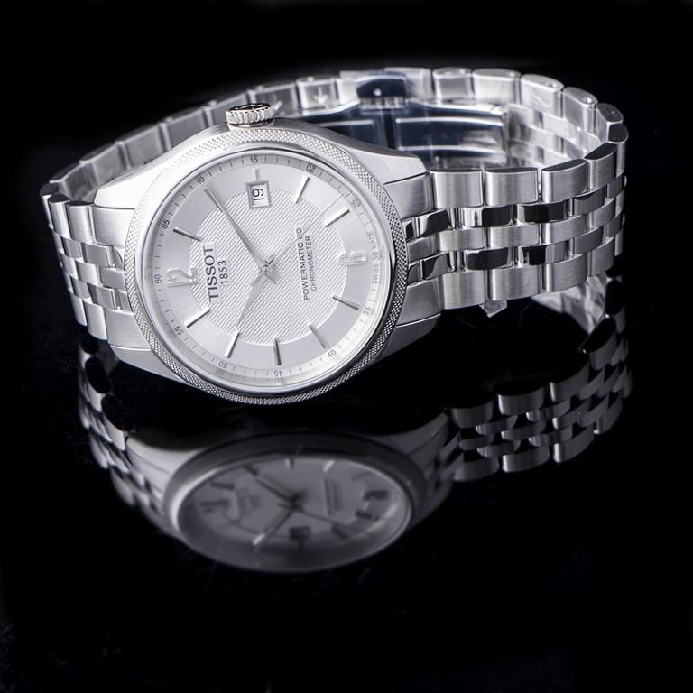 [NEW] Tissot T-Classic Ballade Powermatic 80 Cosc Automatic Silver Dial Men's Watch T108.408.11.037.00