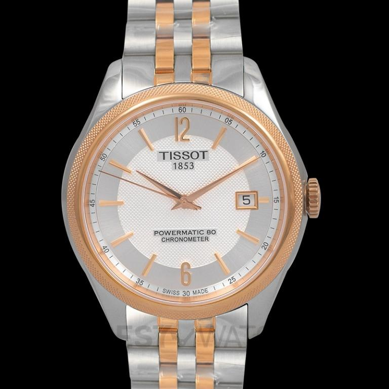 [NEW] Tissot T-Classic Ballade Powermatic 80 Cosc Automatic Silver Dial Men's Watch T108.408.22.037.01