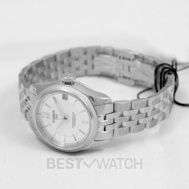[NEW] Tissot T-Classic Ballade Powermatic 80 Cosc Lady Automatic Mother Of Pearl Dial Ladies Watch T108.208.11.117.00