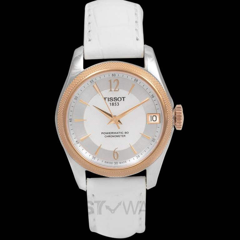 [NEW] Tissot T-Classic Ballade Powermatic 80 Cosc Lady Automatic Mother Of Pearl Dial Watch T108.208.26.117.00