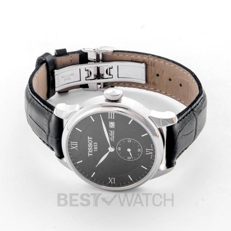 [NEW] Tissot T-Classic Le Locle Automatic Petite Seconde Black Dial Men's Watch T006.428.16.058.01
