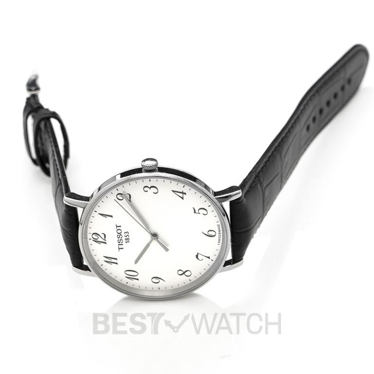 [NEW] Tissot T-Classic Quartz Silver Dial Men's Watch T109.610.16.032.00