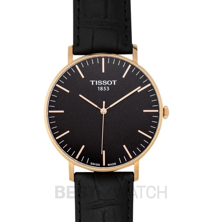 [NEW] Tissot T-Classic Everytime Large Quartz Black Dial Men's Watch T109.610.36.051.00