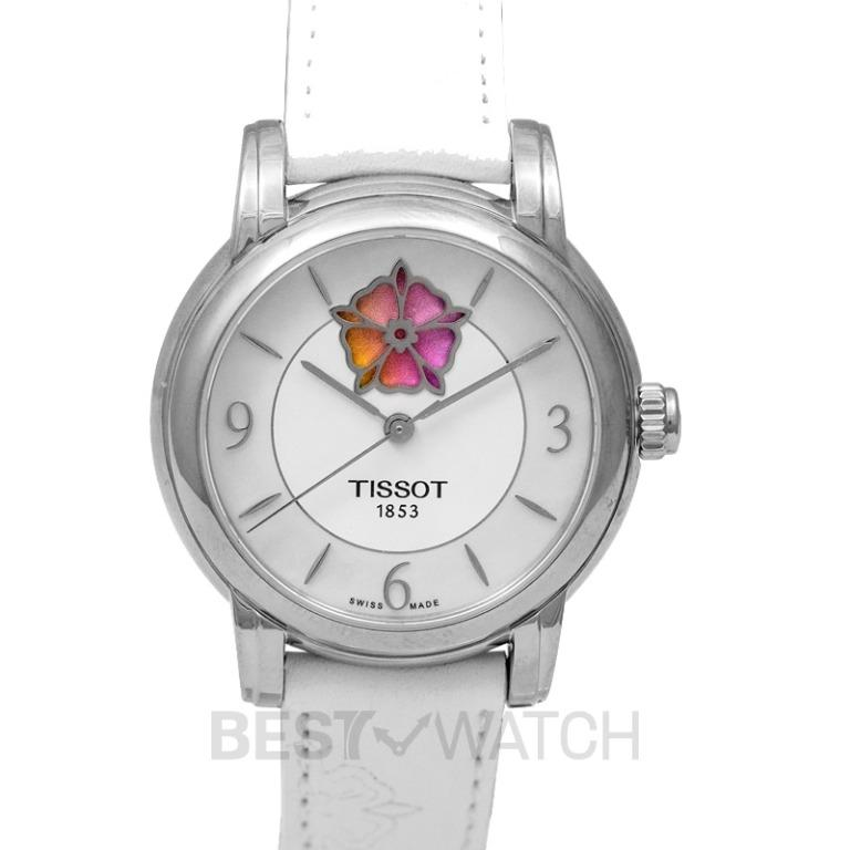 [NEW] Tissot T-Lady Lady Heart Flower Powermatic 80 Automatic Mother Of Pearl Dial Ladies Watch T050.207.17.117.05
