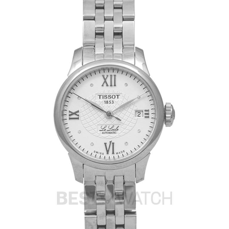[NEW] Tissot T-Classic Le Locle  Automatic  Lady Automatic Silver Dial Diamond Indexes Ladies Watch T41.1.183.16