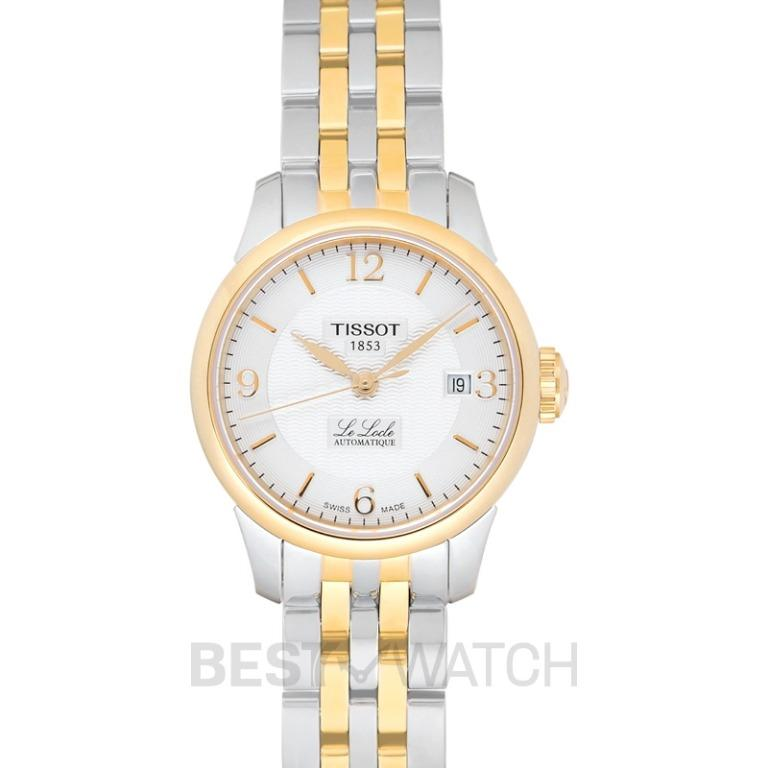 [NEW] Tissot T-Classic Le Locle Automatic Small Lady (25.30) Automatic Silver Dial Ladies Watch T41.2.183.34