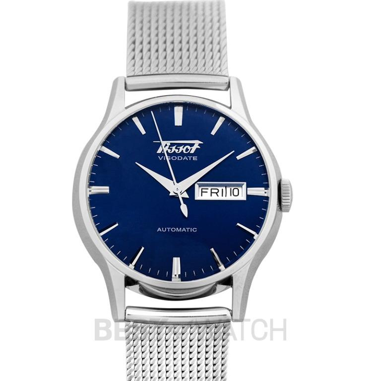 [NEW] Tissot Heritage Visodate Automatic Blue Dial Men's Watch T019.430.11.041.00