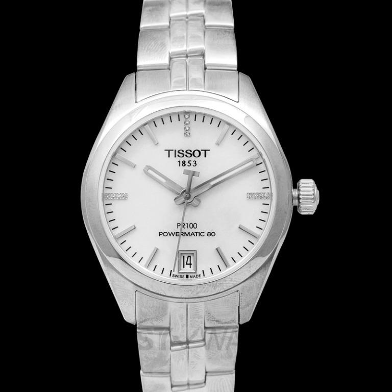 [NEW] Tissot T-Classic PR 100 Powermatic 80 Lady Automatic Mother Of Pearl Dial Ladies Watch T101.207.11.116.00
