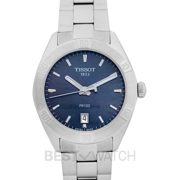 [NEW] Tissot T-Classic Quartz Mother Of Pearl Dial Ladies Watch T101.910.11.121.00