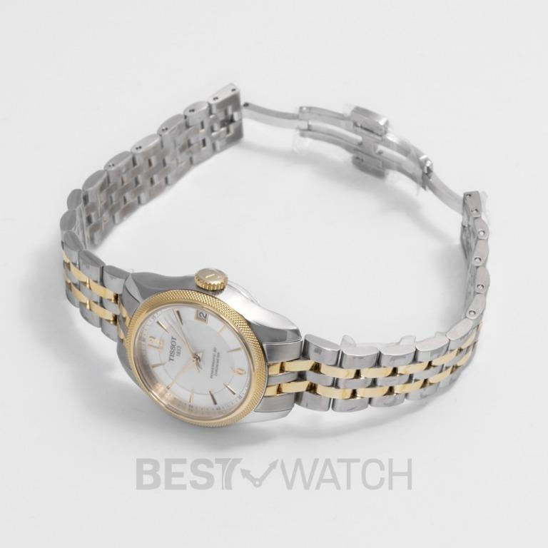 [NEW] Tissot T-Classic Ballade Powermatic 80 Cosc Lady Automatic Mother Of Pearl Dial Ladies Watch T108.208.22.117.00