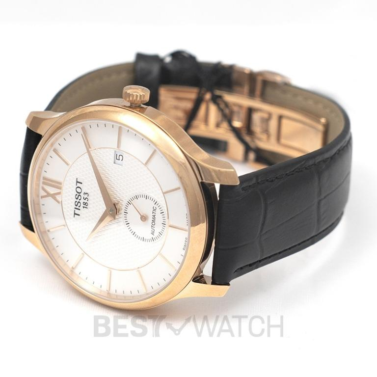 [NEW] Tissot T-Classic Tradition Automatic Small Second Automatic Silver Dial Men's Watch T063.428.36.038.00