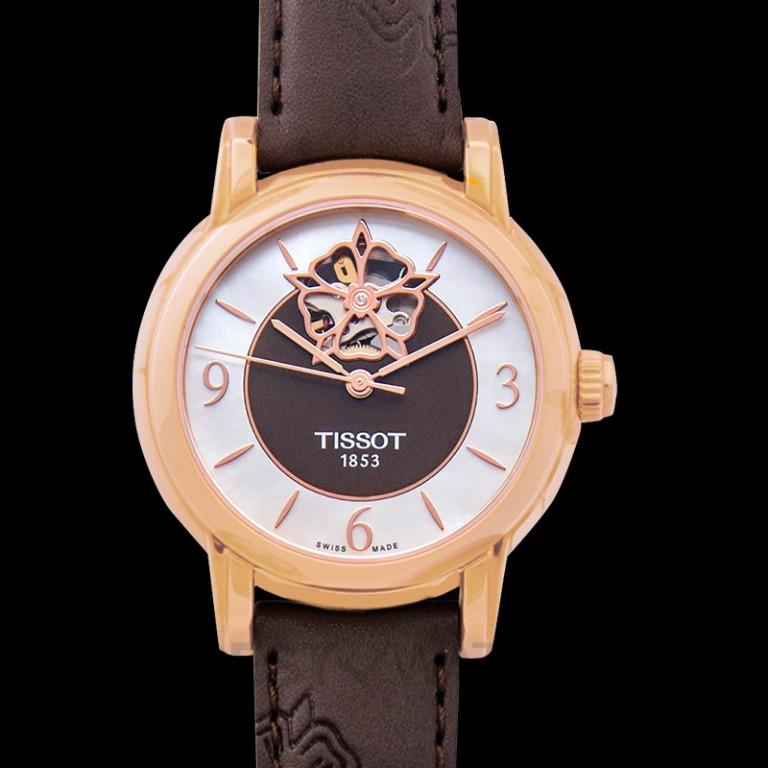 [NEW] Tissot T-Lady Lady Heart Powermatic 80 Automatic Mother Of Pearl Dial Ladies Watch T050.207.37.117.04
