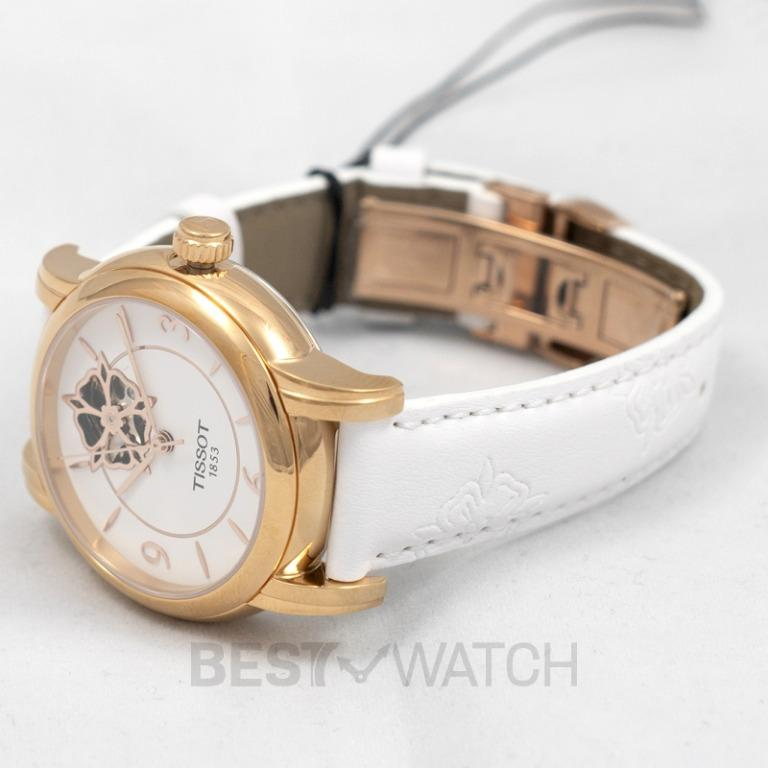 [NEW] Tissot T-Lady Lady Heart Powermatic 80 Automatic White Dial Ladies Watch T050.207.37.017.04