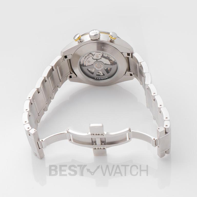 [NEW] Tissot T-Sport PRS 516 Automatic Chronograph Black Dial Men's Watch T100.427.11.051.00