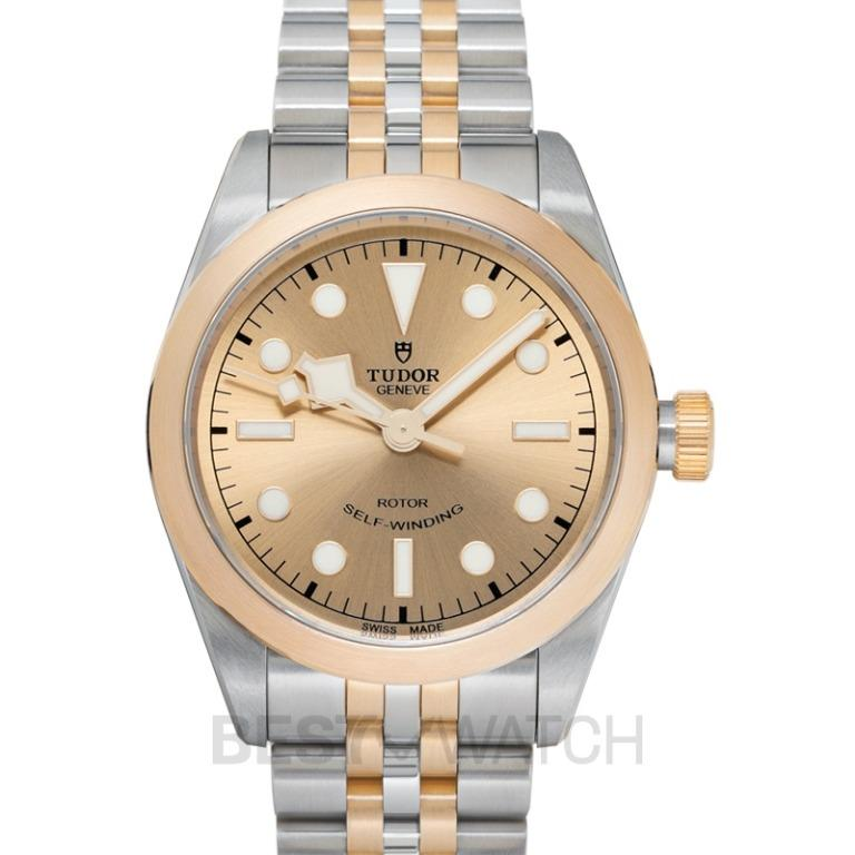 [NEW] Tudor Heritage Black Bay 36 Two-tone Case Automatic Champagne Dial Men's Watch 79503-0002