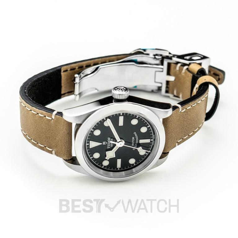 [NEW] Tudor New Heritage Black Bay 32 Baselworld 2018 Stainless Steel Automatic Black Dial Ladies Watch 79580-0002