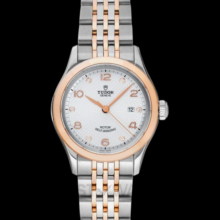 [NEW] Tudor New Tudor 1926 Baselworld 2018 Rose Gold Automatic Silver Dial Ladies Watch 91351-0002