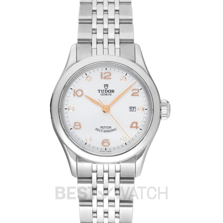 [NEW] Tudor New Tudor 1926 Baselworld 2018 Stainless Steel Automatic Silver Dial Diamonds Ladies Watch 91350-0003