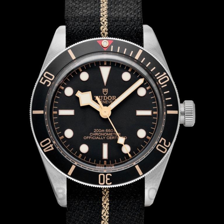[NEW] Tudor New Tudor Black Bay Fifty-Eight Baselworld 2018 Steel Automatic Black Dial Men's Watch 79030N-0003