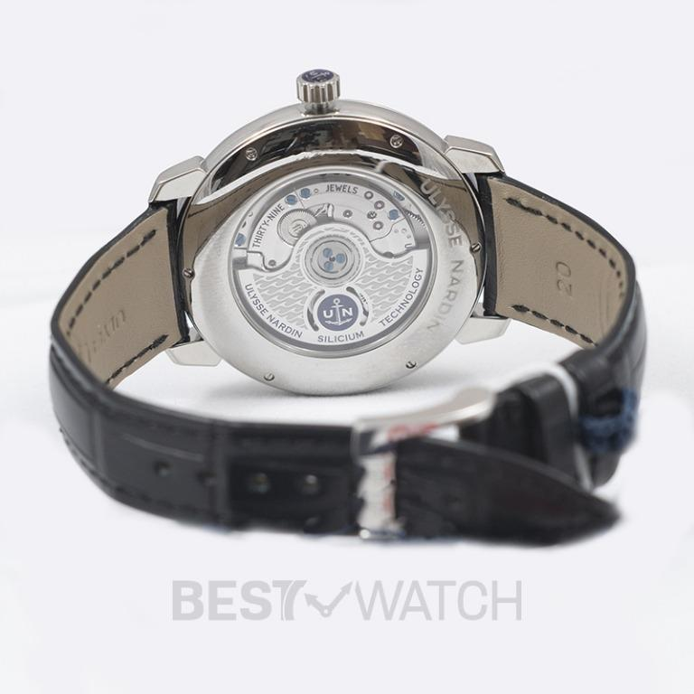 [NEW] Ulysse Nardin Classico Stainless Steel Automatic White Dial Men's Watch 3203-136-2/E0-42