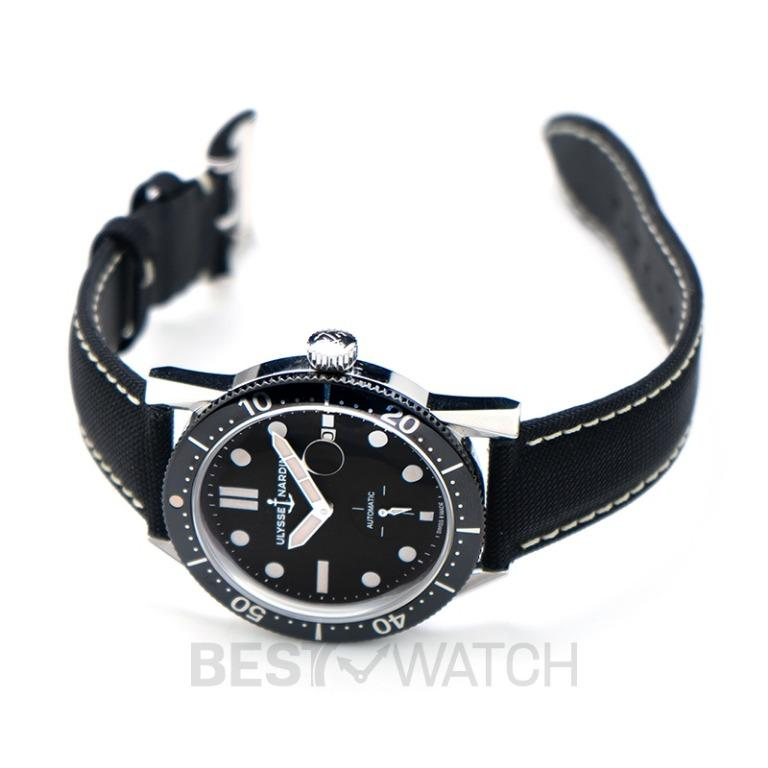 [NEW] Ulysse Nardin Diver Chronometer Stainless Steel Automatic Black Dial Men's Watch 3203-950