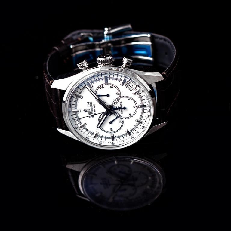 [NEW] Zenith Chronomaster El Primero Stainless Steel Automatic White Dial Men's Watch 03.2080.400/01.C494