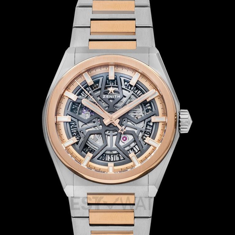 [NEW] Zenith Defy Classic Brushed titanium & 18-carat rose gold Automatic Skeleton Dial Men's Watch 87.9001.670/79.M9001