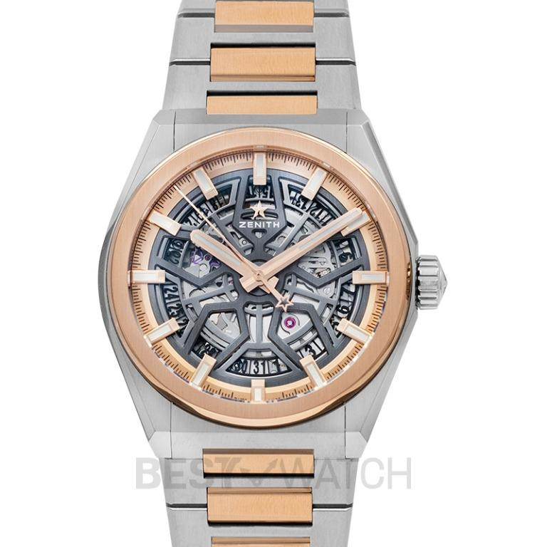 [NEW] Zenith Defy Classic Brushed titanium & 18-carat rose gold Automatic Skeleton Dial Men's Watch 87.9001.670/79.M9001