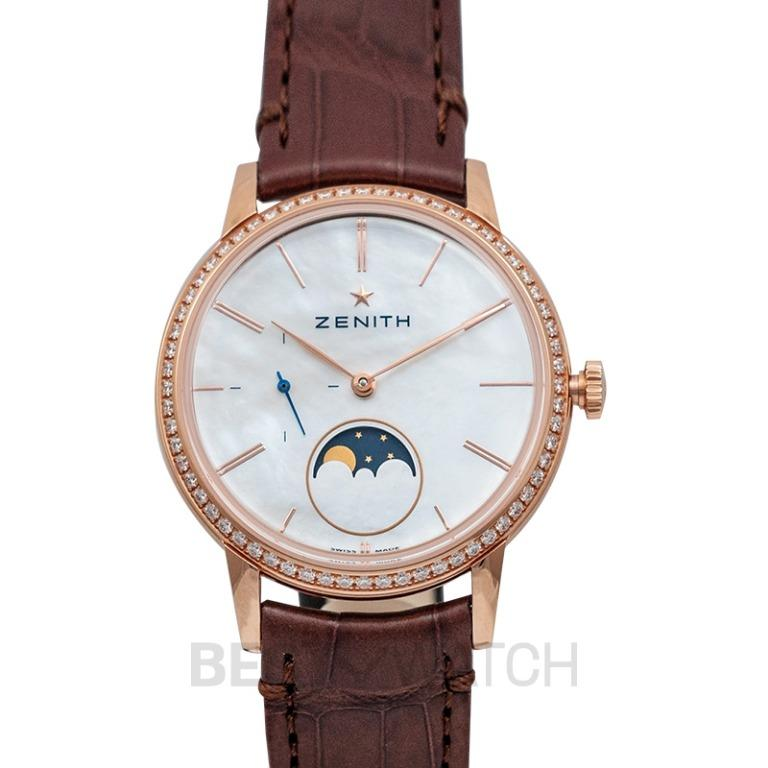 [NEW] Zenith ZENITH ELITE 18kt LADY MOONPHASE DIAMOND LYNETTE 16.2320.692/80.C714 22.2320.692/80.C713