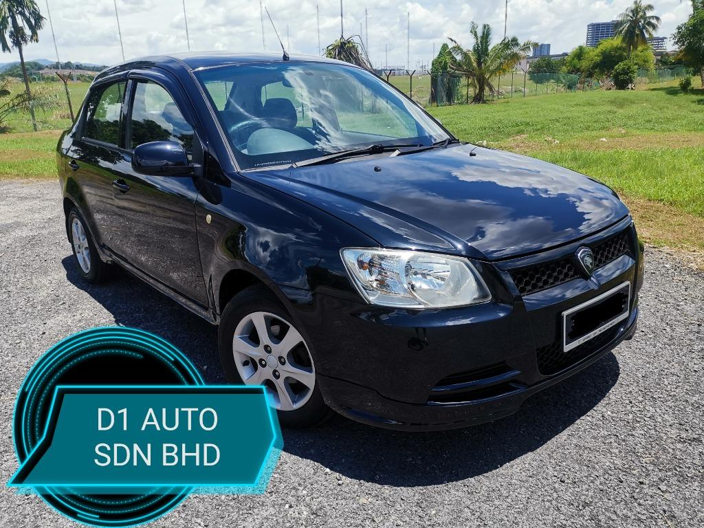 PROTON SAGA 1.3 AT H-LINE 1OWNER NEW PAINT NEW TIRE SPORT RIM BODYKIT