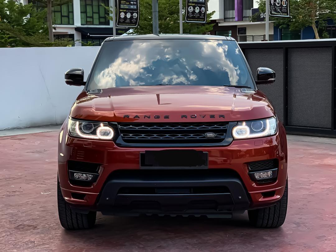 SEWA BELI BERDEPOSIT>>LAND ROVER SPORT AUTOBIOGRAPHY DYN V8 4999 SUPERCHARGED  FULL SPEC 2014