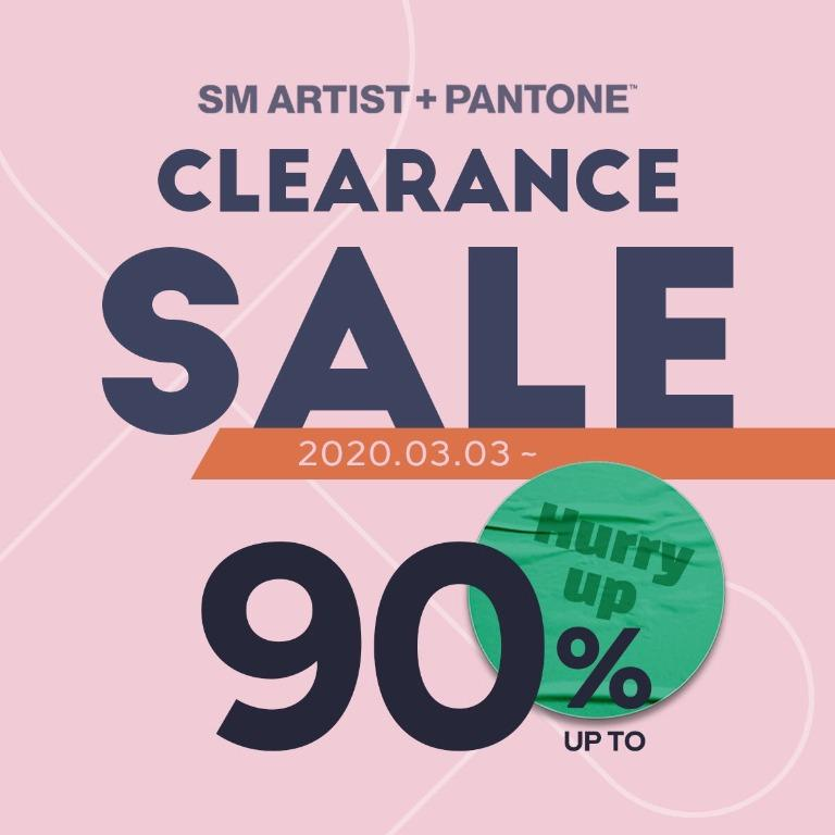 SMARTIST x PANTONE - Clearance Sales (Purchasing Service)
