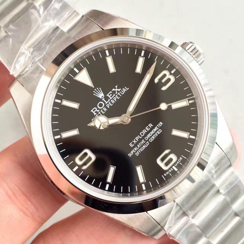 Special Price N厂特价 Noob Rolex Explorer 214270 SS 904L Black Dial Swiss 2836-2