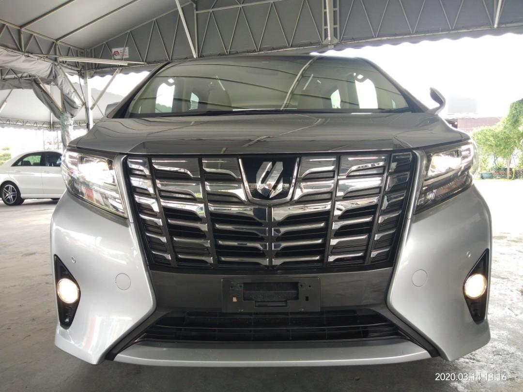 TOYOTA ALPHARD X 2.5 2015RECON 2pwrdooON THE ROAD PRICE~RM168,888.88 1,includes SST,2)Import Duties fee,3)Road tax fee,4)Processing fee,5)Insurance fee✔ 📲www.wasap.my/0122367272/SengSeng☺🙏👍
