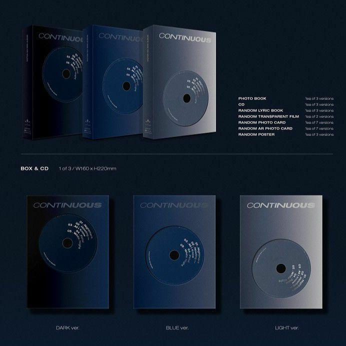 VICTON - CONTINUOUS ( All package + preorder poster )