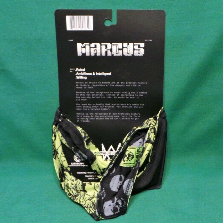 Watch Dogs 2 Marcus Holloway Costume Cosplay Face Mask Scarf
