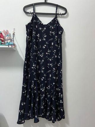 韓國全新碎花洋裝