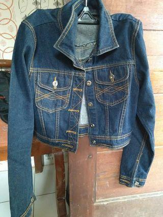 Denim Jacket/ jaket Jeans crop