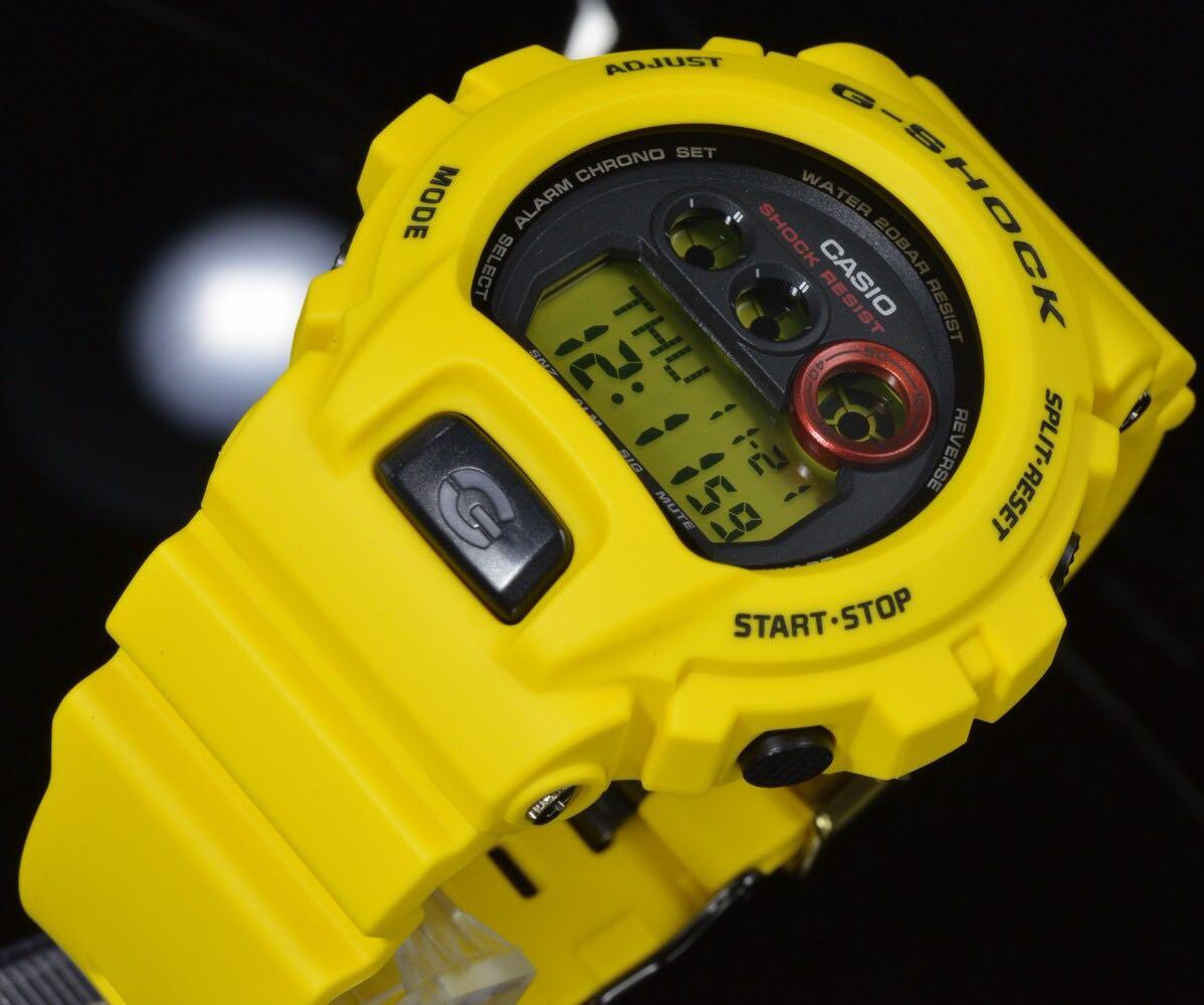 100% Authentic new Casio G-Shock Lighting Yellow GDX-6930E-9 30th Anniversary Watch limited edition