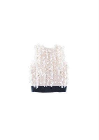 Giambattista Valli H&M Collab Cute Bow Sleeveless Top