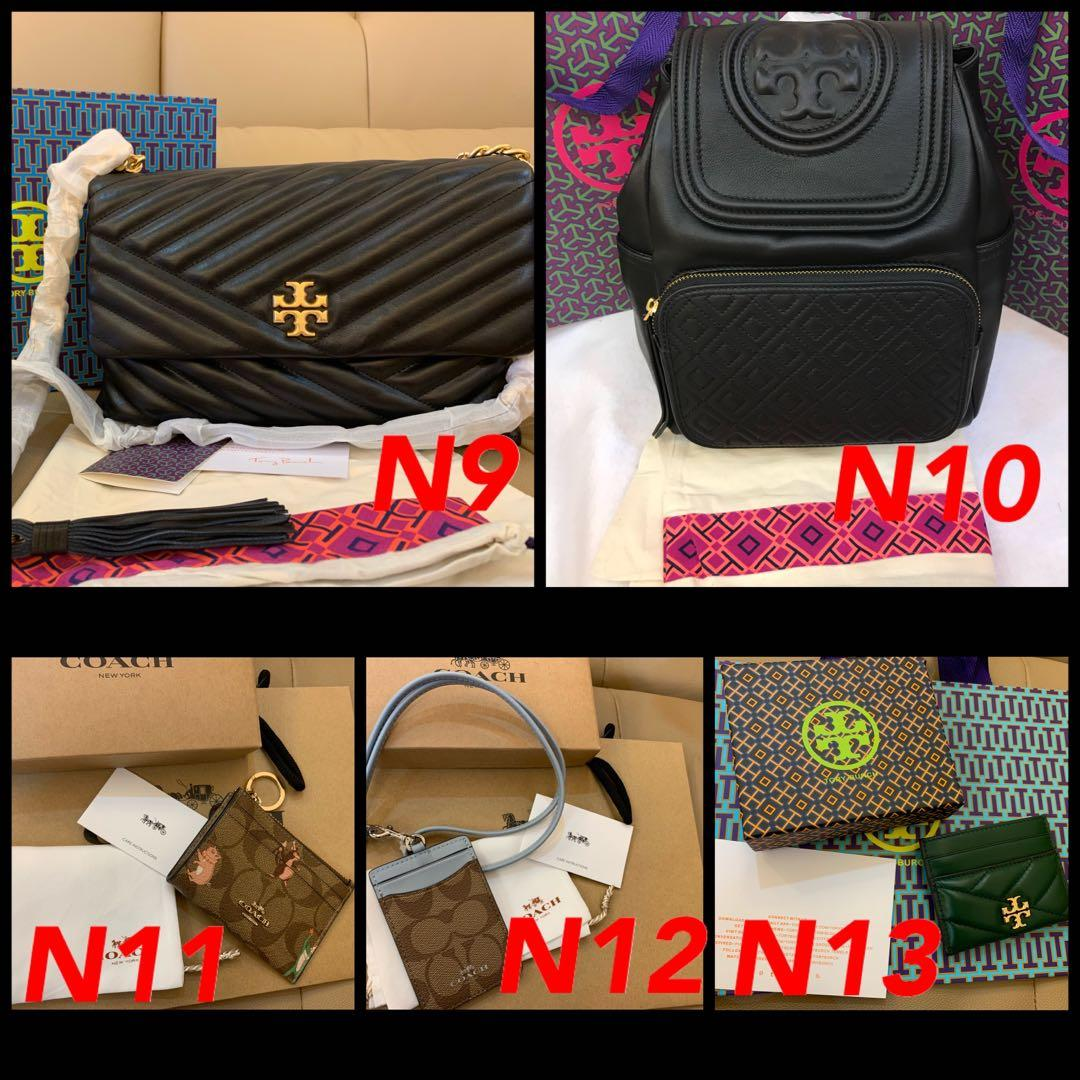 (15/03/20)Ready Stock authentic coach women bag wallet purse clutch sling bag crossbody backpack belt buckle woc Tory Burch wallet wristlet clutch watch Kate spade Marc Jacobs hhh