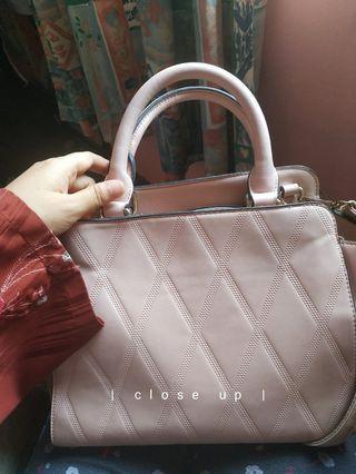 Zalora Pink Handbag #EarnXtra