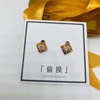  禮物 swag かぶしきがぃしゃ  氣質簡約小巧耳環