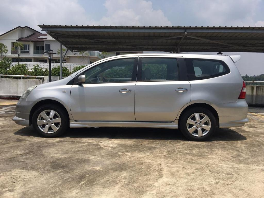 2011 Nissan GRAND LIVINA 1.8 (A) B / L Loan Kedai DP 3-5 K