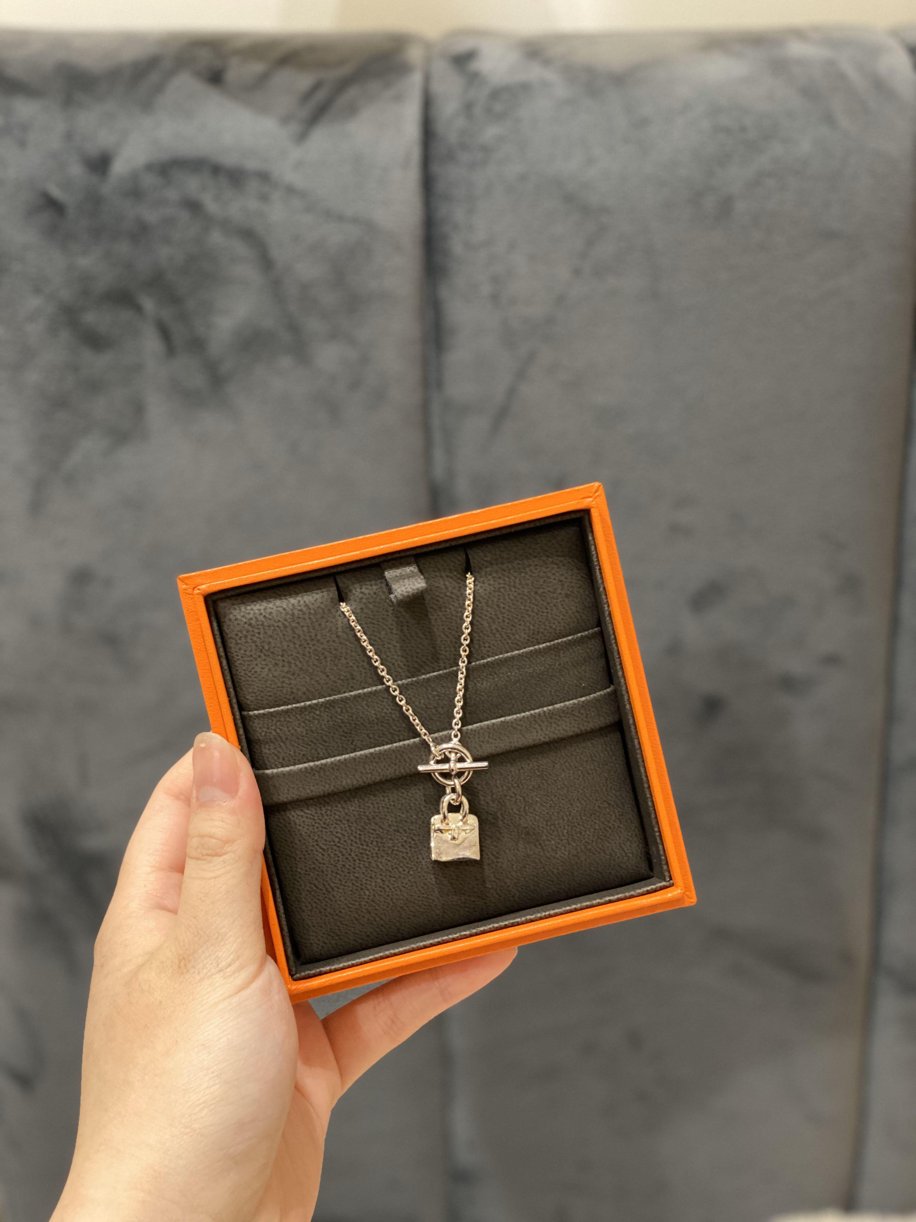 愛馬仕 Hermès 鉑金包款項鍊