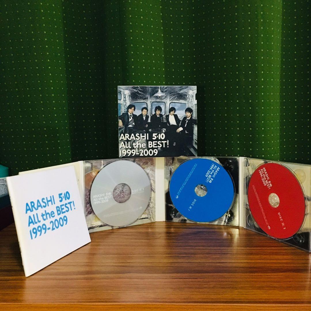 ARASHI 十週年紀念CD
