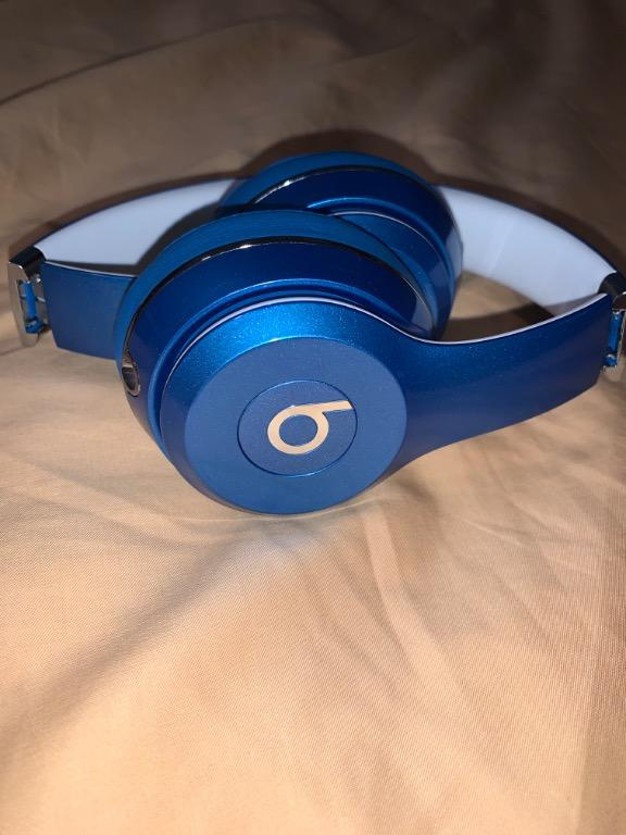 Beats Solo2 Wired On-Ear Headphone Luxe Edition - Blue