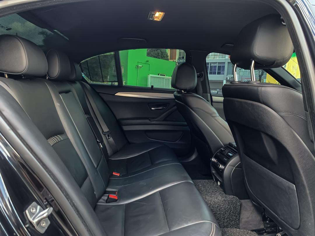 BMW F10 528i 2.0CC TWIN POWER TURBO LCI (FACELIFT) AUTOBAVARIA LOCAL SPEC M-SPORT SEWABELI BERDEPOSIT