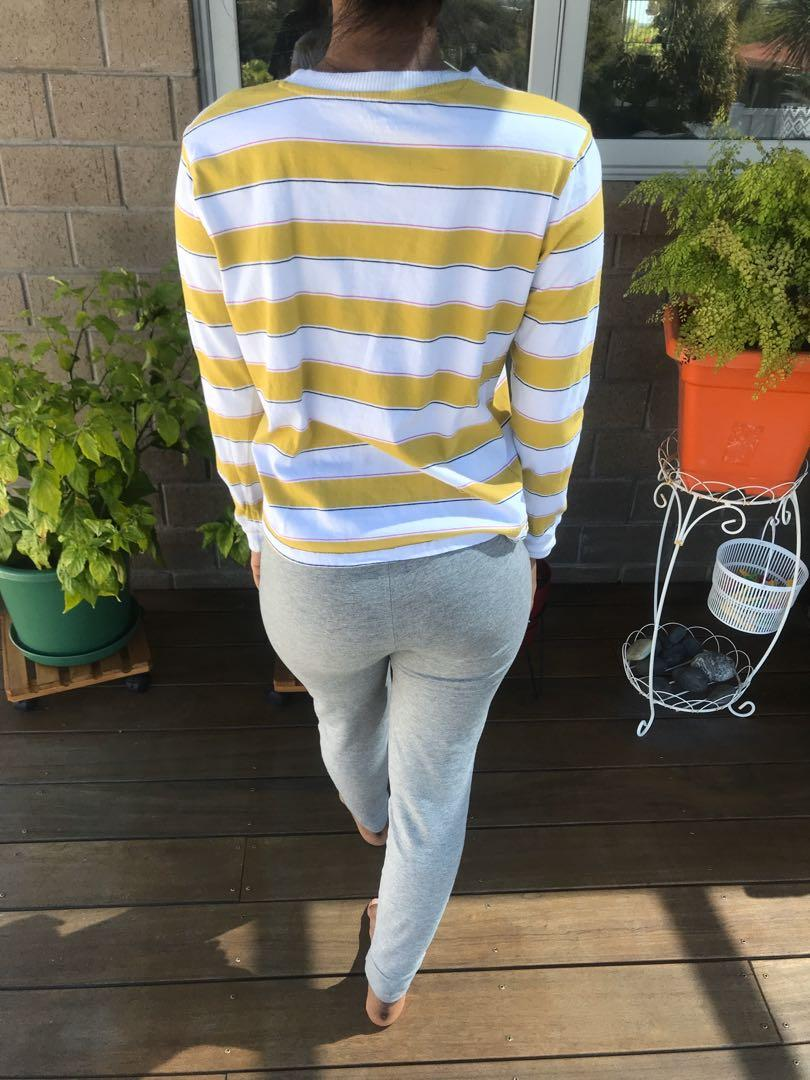 bundle listing!! two striped t-shirts and striped long sleeve