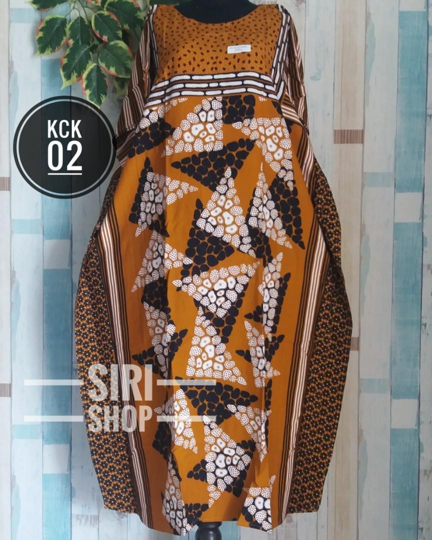 Daster Kelelawar Jumbo Kck Tanpa Tali Batik Hap Fesyen Wanita Pakaian Wanita Atasan Di Carousell